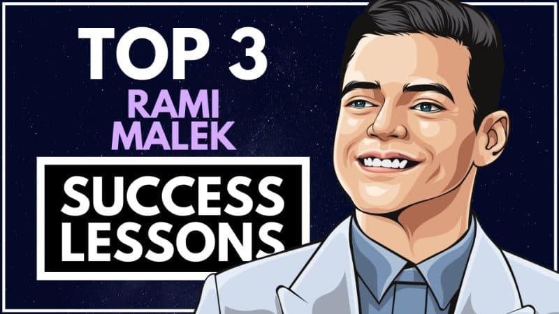 Rami Malek Success Lessons