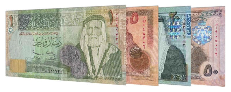 Strongest Currencies - Jordanian Dinar
