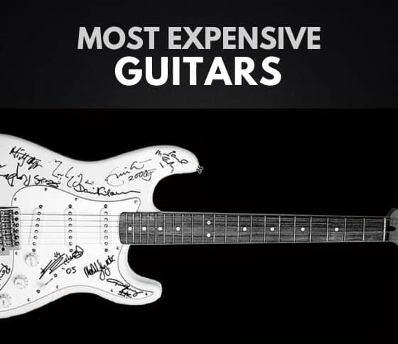 The Most Expensive Guitars in the World