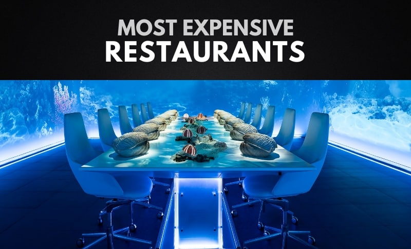 The 10 Most Expensive Restaurants in the World