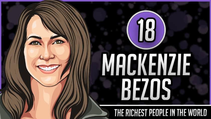 Richest People in the World - MacKenzie Bezos