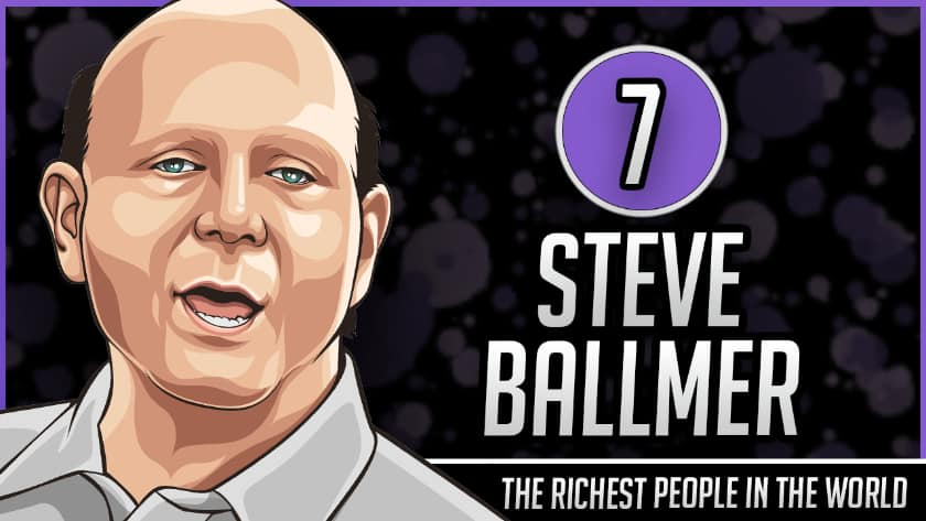 Richest People in the World - Steve Ballmer