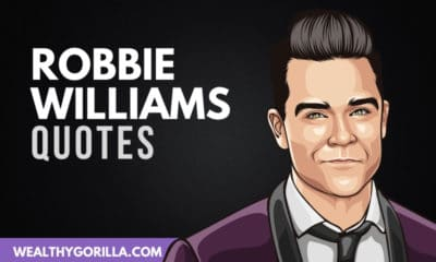 The Best Robbie Williams Quotes