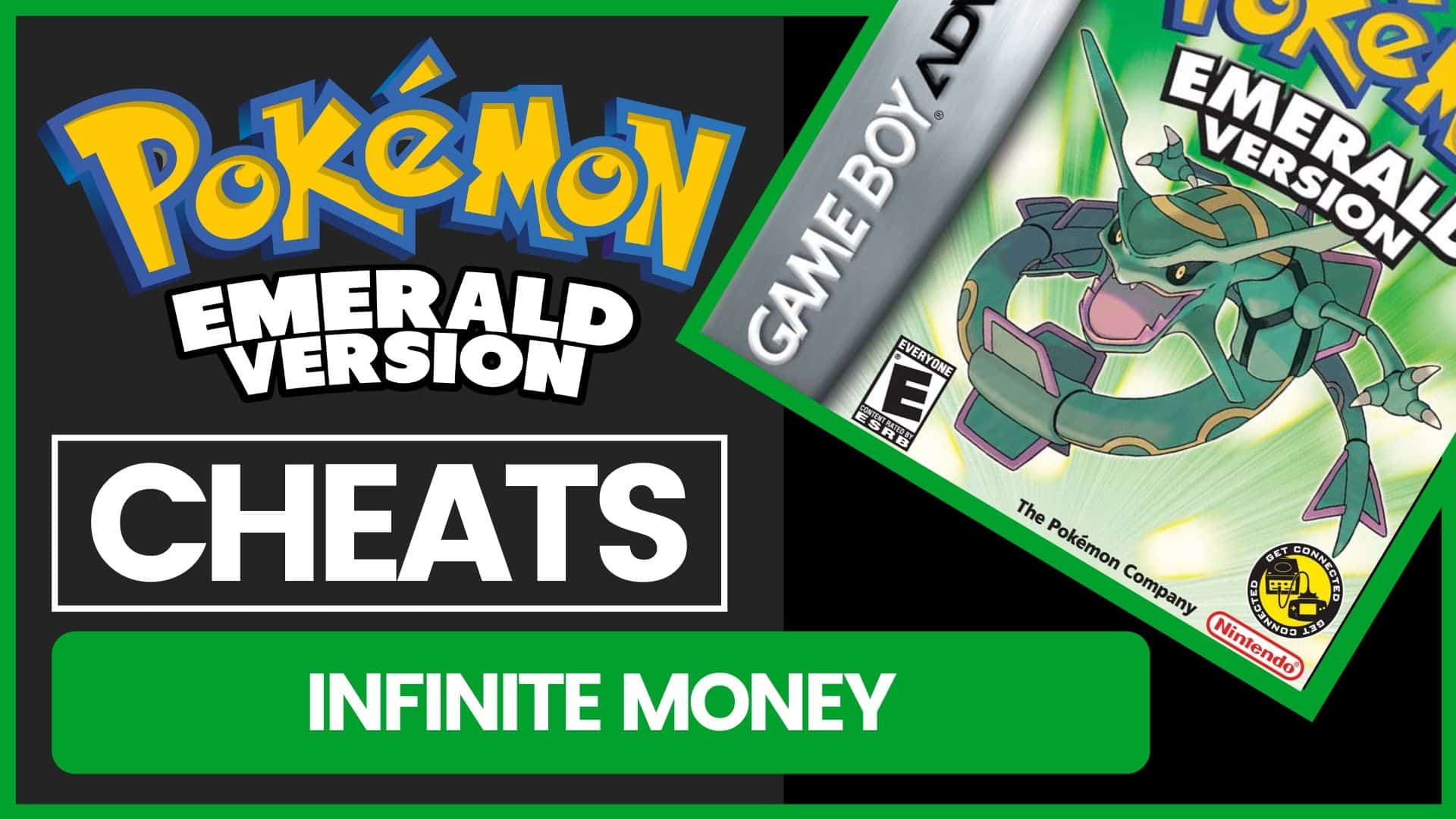 Pokemon Emerald Cheats - Infinite Money