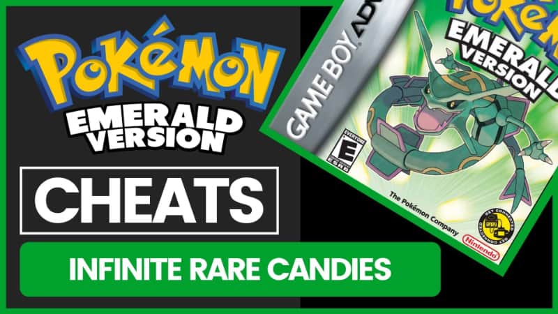 Pokemon Emerald Cheats - Infinite Rare Candies