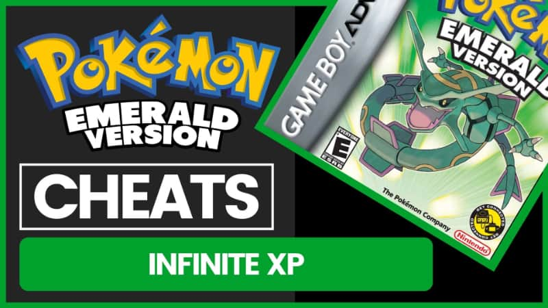 Pokemon Emerald Cheats - Infinite XP