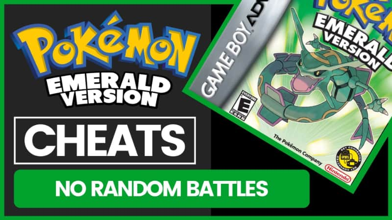 Pokemon Emerald Cheats - No Random Battles