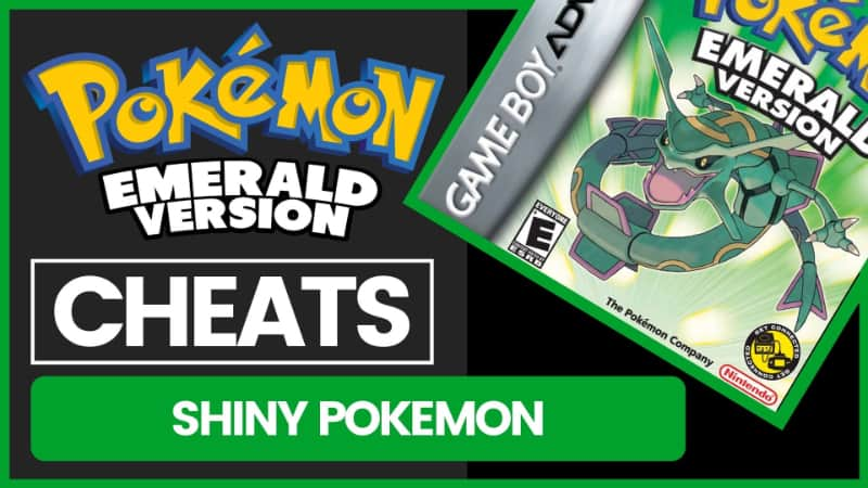 Pokemon Emerald Cheats - Shiny Pokemon