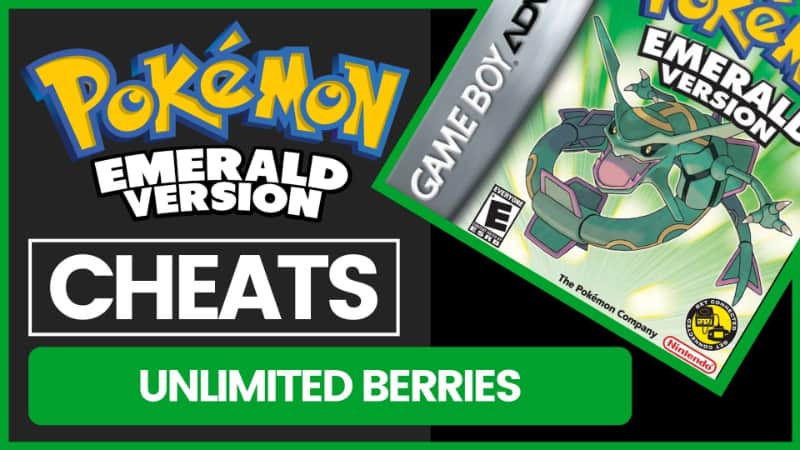 Pokemon Emerald Cheats - Unlimited Berries