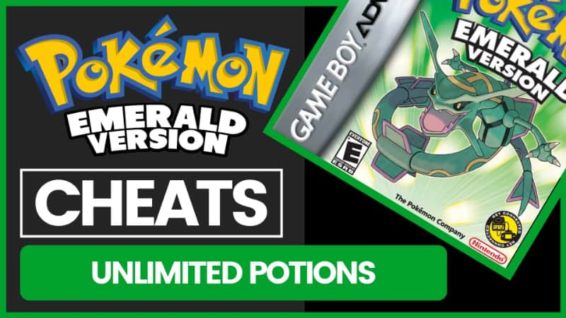 Pokemon Emerald Cheats - Unlimited Potions