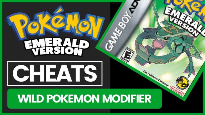 Pokemon Emerald Cheats - Wild Pokemon Modifier