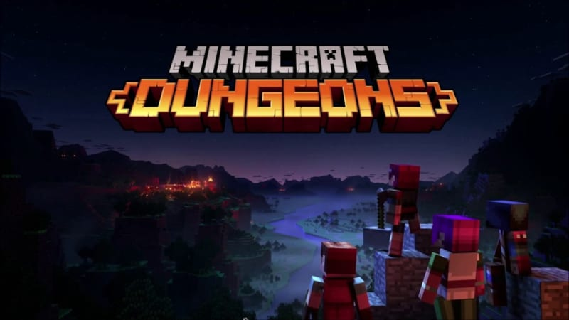 Most Anticipated PlayStation Games - MineCraft Dungeons