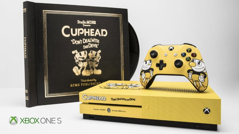 Rarest Video Games Consoles - Cuphead Xbox One X