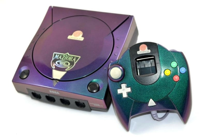 Rarest Video Games Consoles - Maziora Dreamcast