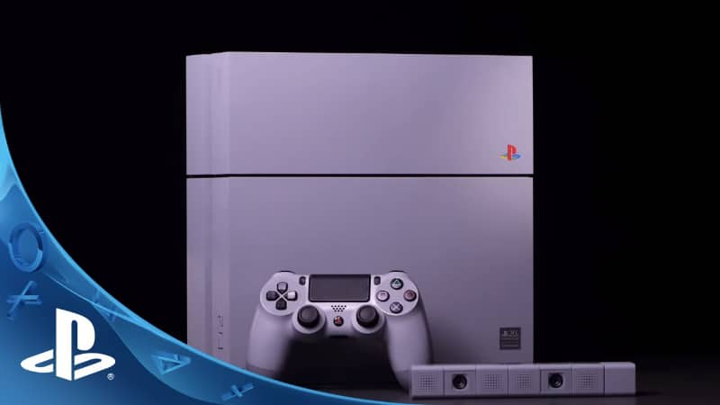 Rarest Video Games Consoles - PlayStation 4 20th Anniversary Edition