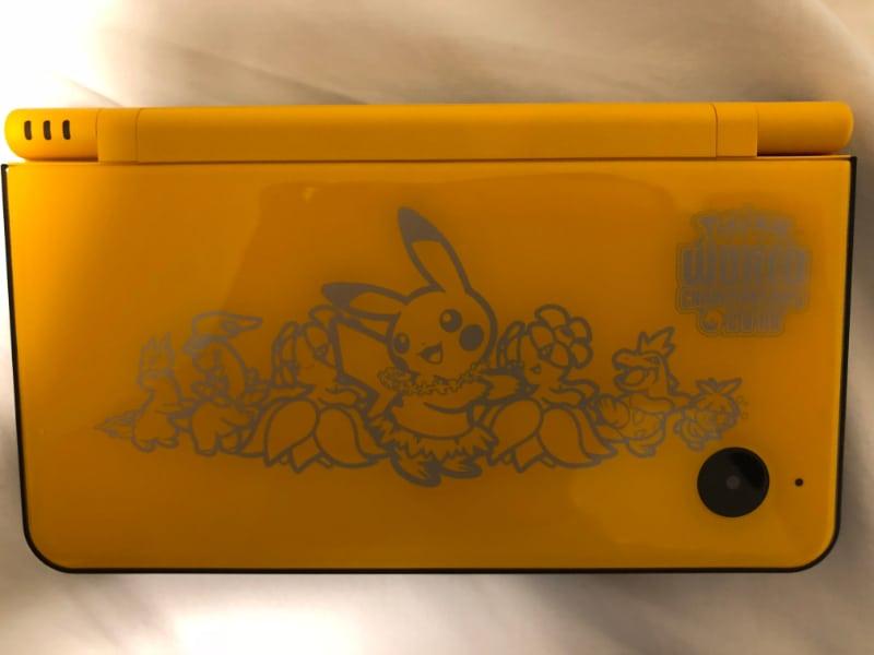 Rarest Video Games Consoles - Pokémon World Championships Nintendo DSI XL