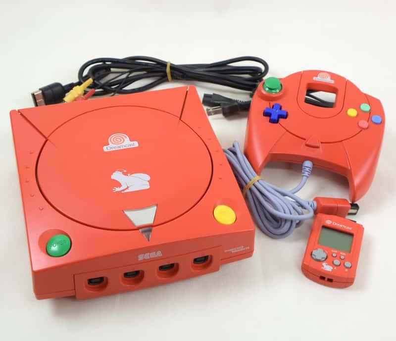 Rarest Video Games Consoles - Seaman Christmas Dreamcast