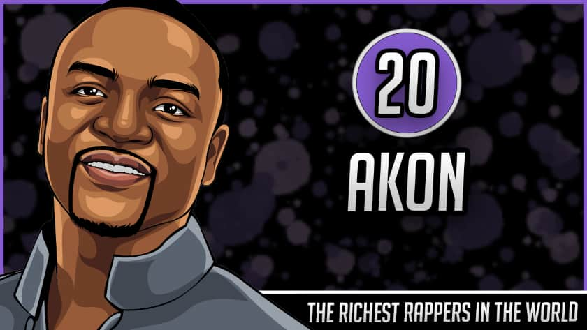 Richest Rappers in the World - Akon
