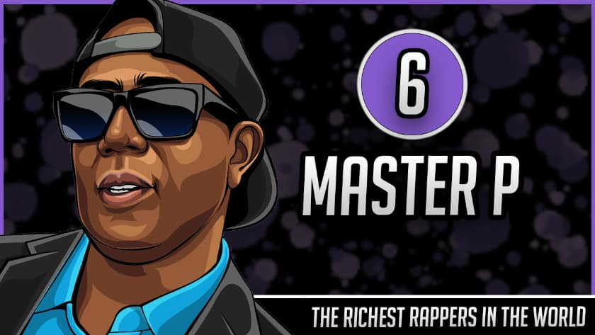 Richest Rappers in the World - Master P