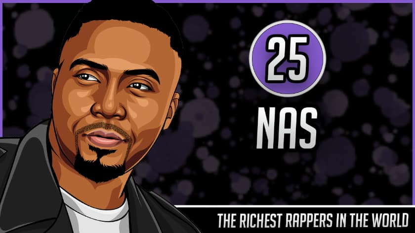 Richest Rappers in the World - Nas