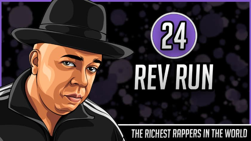 Richest Rappers in the World - Rev Run
