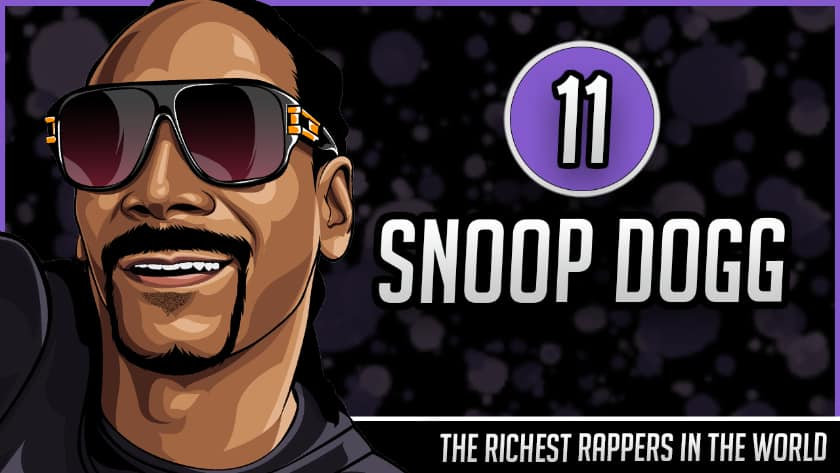 Richest Rappers in the World - Snoop Dogg