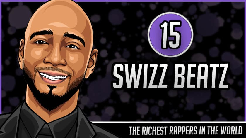 Richest Rappers in the World - Swizz Beatz