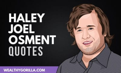 The Best Haley Joel Osment Quotes