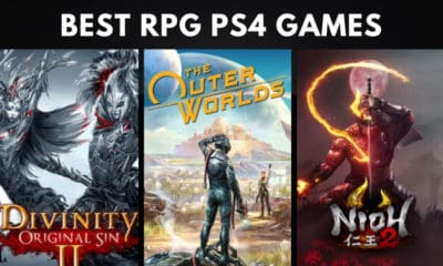 The Best RPG PS4 Games