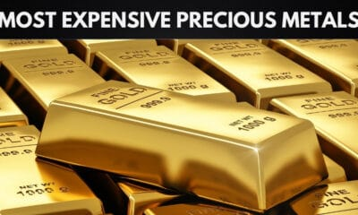 The Most Expensive Precious Metals in the World