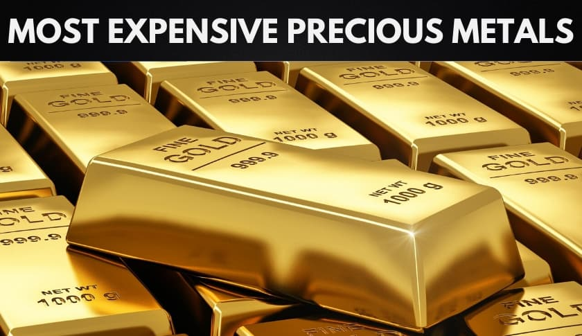 The 10 Most Expensive Precious Metals in the World