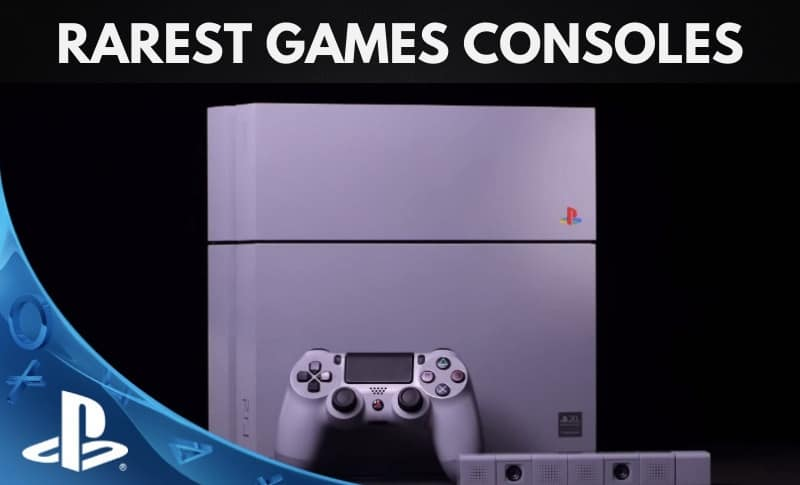 The Rarest Video Games Consoles