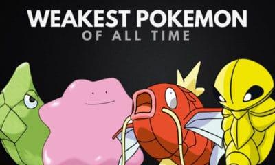 The 30 Weakest Pokémon You Probably Shouldn't Catch