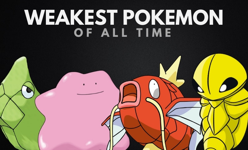 The Weakest Pokemon of All Time