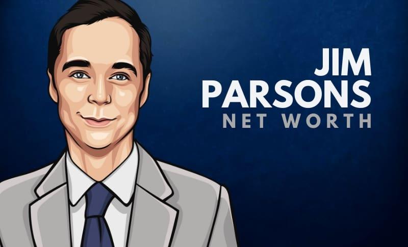 Jim Parsons' Net Worth
