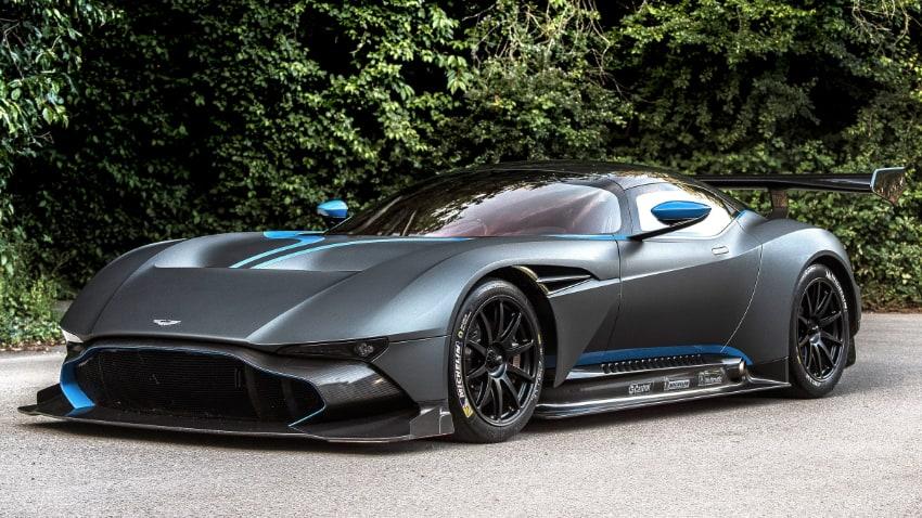 Most Expensive Cars - Aston Martin Vulcan