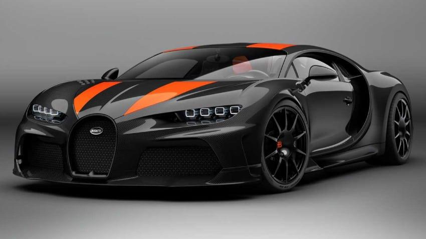 Most Expensive Cars - Bugatti Chiron Super Sport 300+