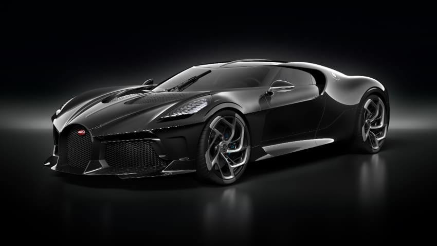 Most Expensive Cars - Bugatti La Voiture Noire