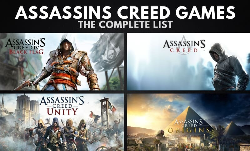 The Complete Assassins Creed Games List In Order