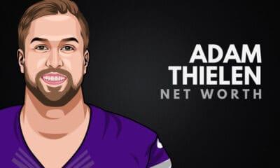 Adam Thielen's Net Worth