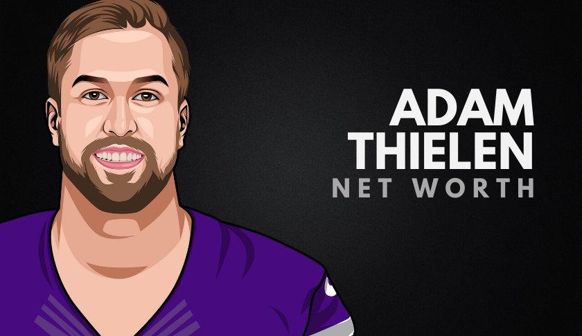 Adam Thielen Net Worth