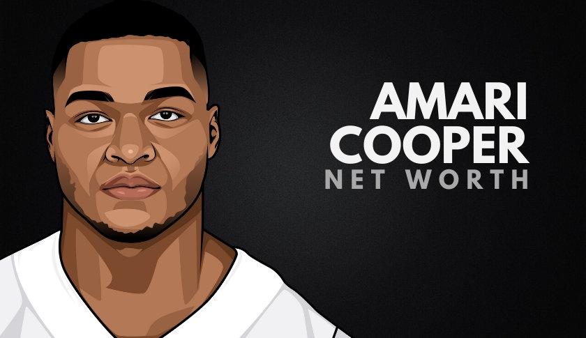 Amari Cooper's Net Worth