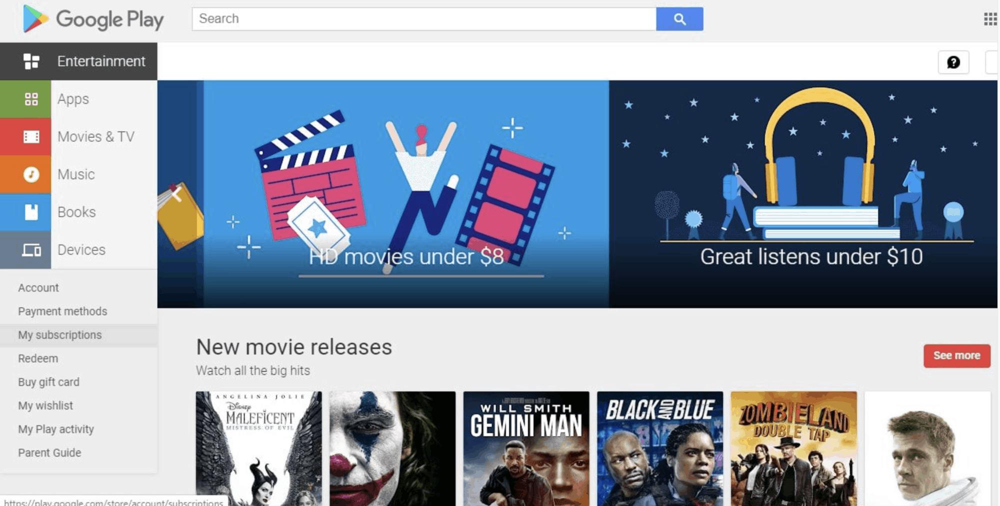 Cancel Netflix Subscription Google Play