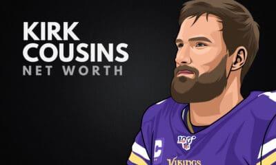 Kirk Cousins' Net Worth