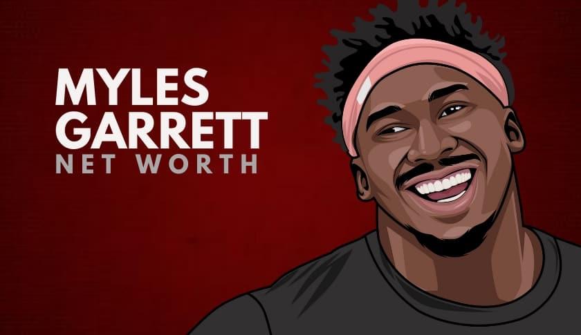 Myles Garrett Net Worth