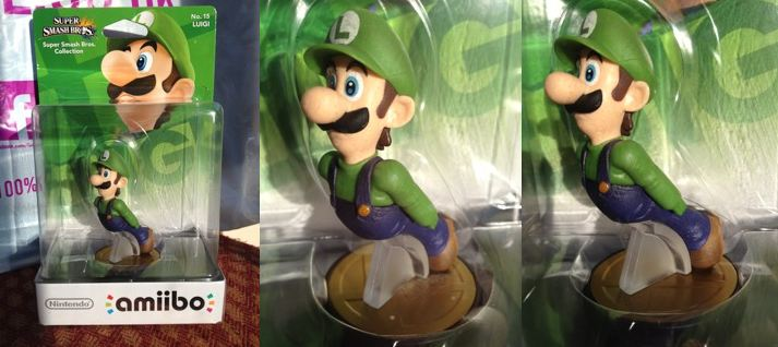 Most Expensive Amiibo Figures - Missing Left Hand Luigi