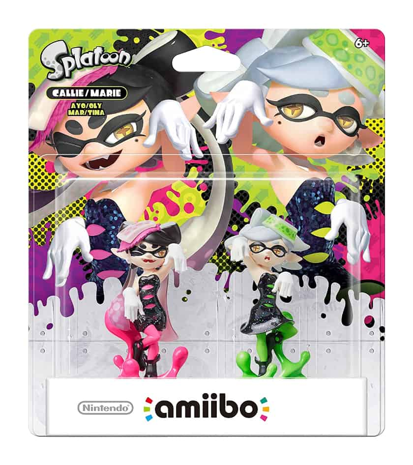 Most Expensive Amiibo Figures - Squid Sisters Callie and Marie
