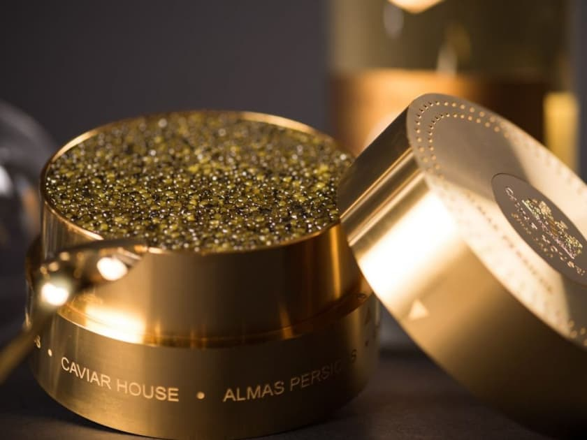 Most Expensive Foods - Almas Caviar