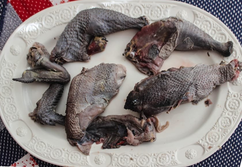 Most Expensive Foods - Ayam Cemani Chicken