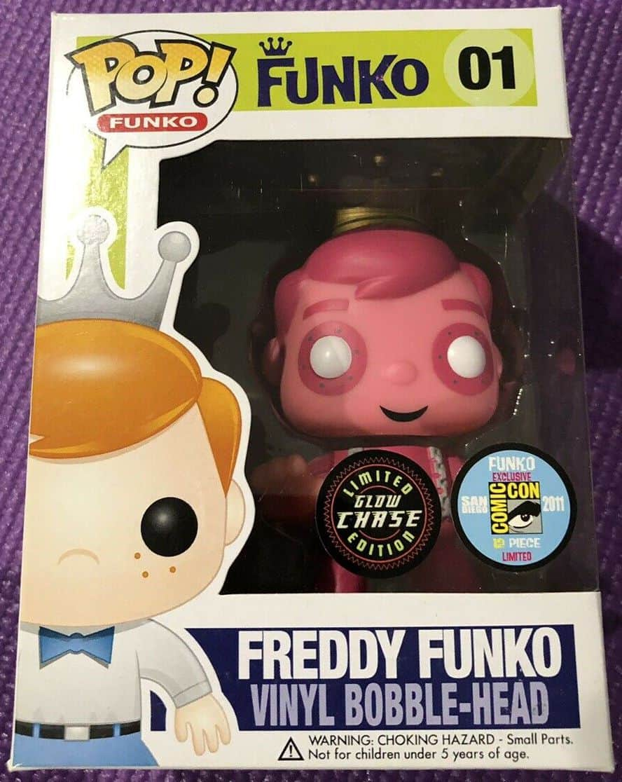 Most Expensive Funko Pop Vinyls - Frankenberry Freddy Funko (GITD)